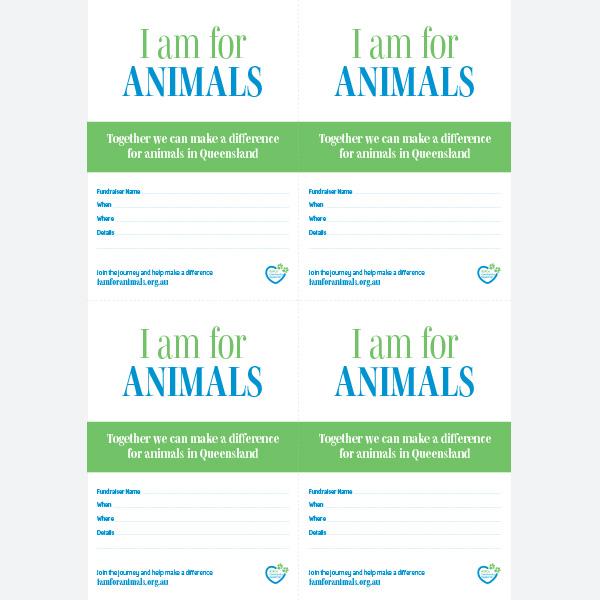 Invite - Animals