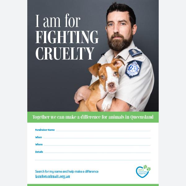 Fundraising Poster - Inspector
