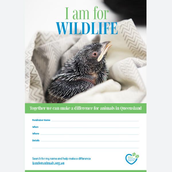 Fundraising Poster - Wildlife