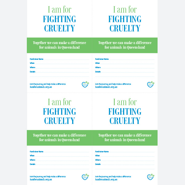 Invite - Fighting Cruelty